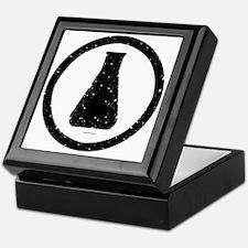 Erlenmeyer-inblack Keepsake Box