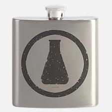 Erlenmeyer-inblack Flask