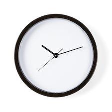 oh my god (white) 2400x2400 Wall Clock