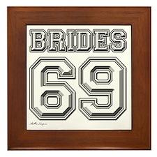 BRIDES Framed Tile