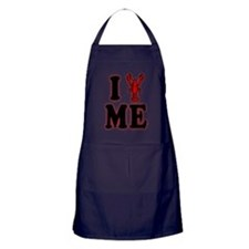 I Love Maine Lobster Outer Glow Apron (dark)