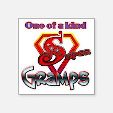 "SUPERGRAMPS Square Sticker 3"" x 3"""