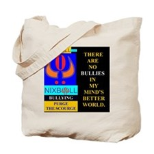 BETTER WORLD BLK. Tote Bag