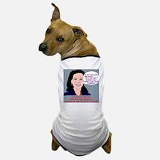 Michele-Bachmann-Tea-Party-Cartoon Dog T-Shirt