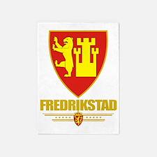 Fredrikstad (Flag 10) 5'x7'Area Rug
