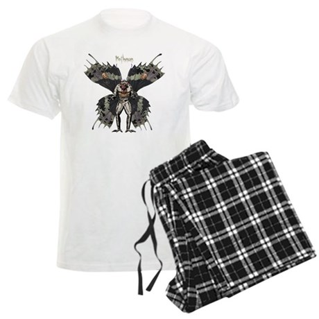 Mothman3 Men's Light Pajamas