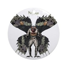 Mothman3 Round Ornament