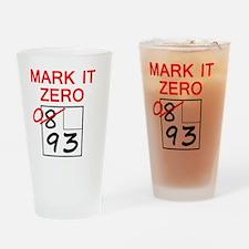 zero_10x10 Drinking Glass