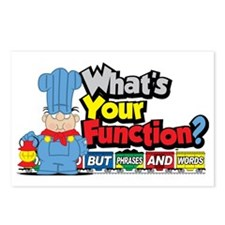 Conjunction-Junction Postcards (Package of 8)