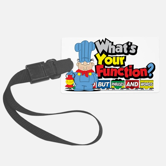 Conjunction-Junction Luggage Tag