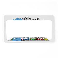 Conjunction-Junction License Plate Holder