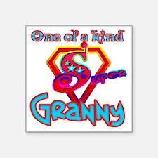 """SuperGranny Square Sticker 3"""" x 3"""""""