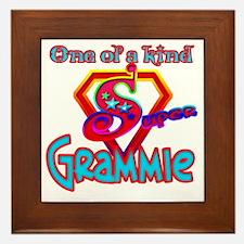 SUPER GRAMMIE Framed Tile