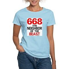 668 Neighbor Women's Pink T-Shirt