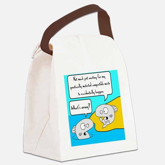 evolution mate Canvas Lunch Bag