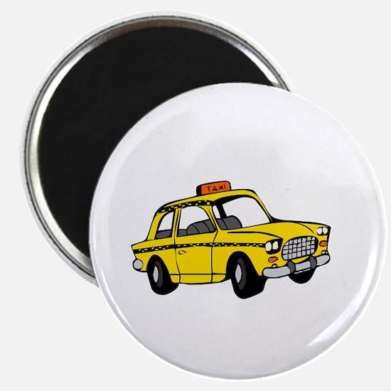 Taxi Sono Qui -dk Magnet