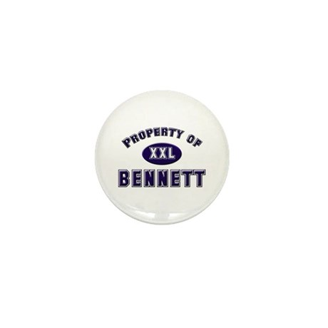 Property of bennett Mini Button