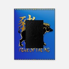 460_ipad_caseYear Of The Pig-Black B Picture Frame