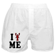 I Love Maine Lobster Boxer Shorts
