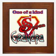 SuperGrandpa Framed Tile