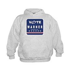 Vote Warner Hoodie