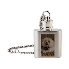 MalteseMag2 Flask Necklace