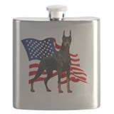 Doberman Flask Bottles