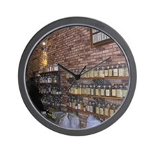 Spice Shop-2-SW Wall Clock