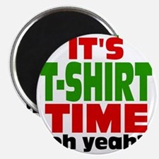 Tee Shirt Time -color Magnet