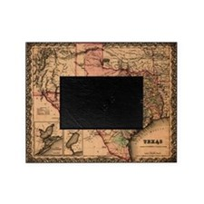 1855 Map of TX Picture Frame