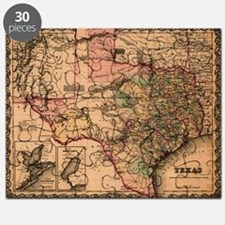 1855 Map of TX Puzzle