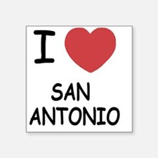 "SAN_ANTONIO Square Sticker 3"" x 3"""