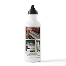 zazzlebook2 Water Bottle