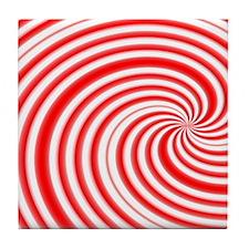 candycane Tile Coaster