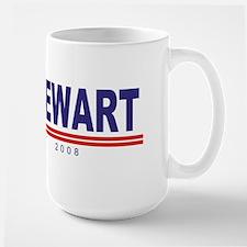 Jon Stewart (simple) Large Mug