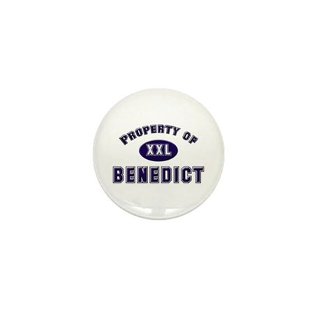 Property of benedict Mini Button