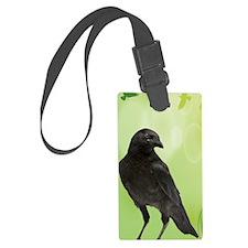 Crow_Green_iPhone2 Luggage Tag