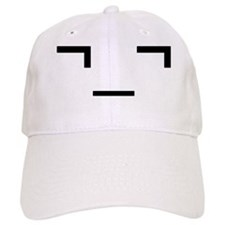emoannoyedglass Baseball Cap
