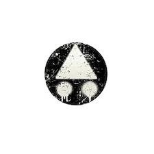 MTB Route Logo Black Mini Button