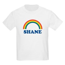 SHANE (rainbow) Kids T-Shirt