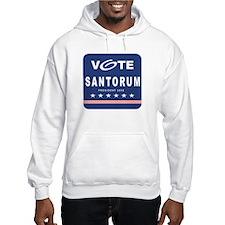 Vote Santorum Hoodie