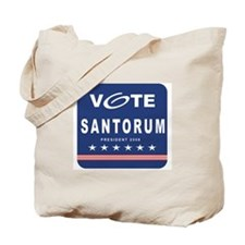 Vote Santorum Tote Bag