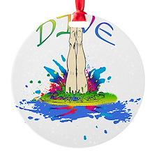 DIVE Ornament
