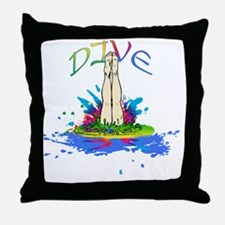 DIVE Throw Pillow