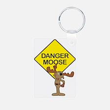 Danger Moose Keychains