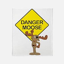 Danger Moose Throw Blanket