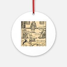 witchcraft Round Ornament
