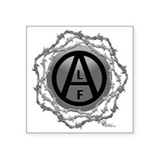 "alf-02 Square Sticker 3"" x 3"""
