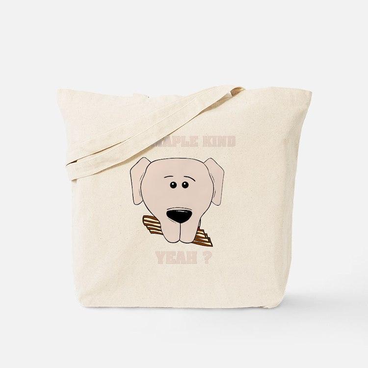 mapkekinddogB Tote Bag