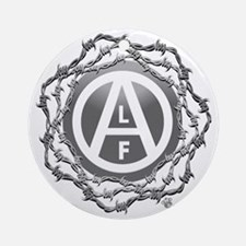 alf-black-02 Round Ornament